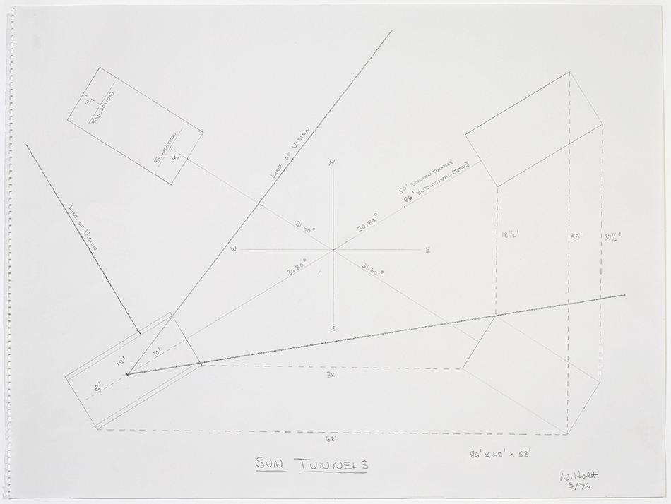 Jennifer Padgett on Nancy Holt | Notations: Contemporary Drawing as ...
